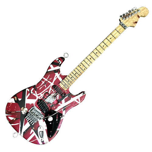 Eddie Van Halen Miniature Replica Guitar – Official Merchandise
