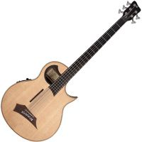 Load image into Gallery viewer, Warwick Alien Deluxe Thinline 5-String Acoustic-Electric Bass Natural