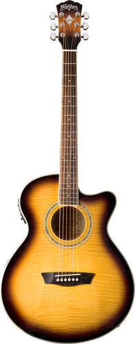 Washburn - Mini Jumbo Acoustic/Electric - benson-music-shop