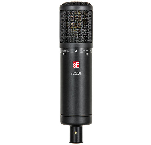 sE2200 sE Electronics - Large Diaphram Condenser Mic Cardioid with Shockmount and Filter
