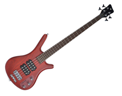 Warwick RB Corvette Bass Red Oil Updated Wenge Fingerboard