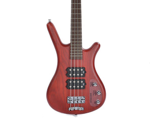 Warwick RB Corvette Bass Red Oil Updated Wenge Fingerboard - benson-music-shop