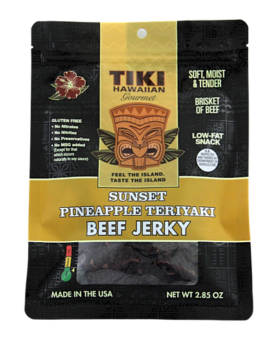 Beef Jerky - Sunset Pineapple Teriyaki