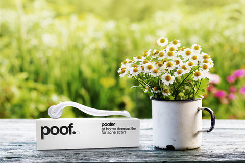 poofer poof dermaroller acne treatment
