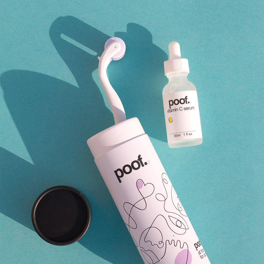 Poof Kit - Poofer+ & Vit C Serum
