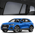 AUDI Q3 2018-2021 F3 SUV Car Shades | Snap On Magnetic Sun Shades Window Blind
