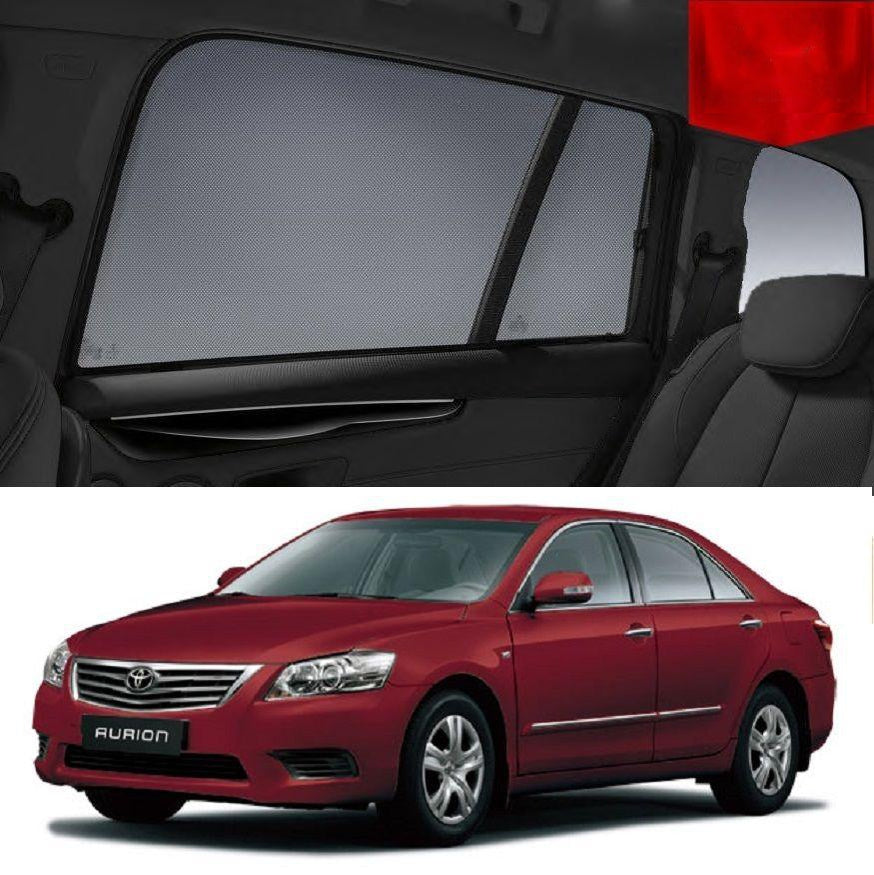 TOYOTA Aurion 2006-2011 Magnetic Rear Side Car Window Sun Blind Sun Shade Mesh