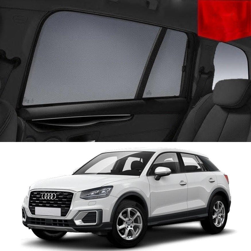 Car Sun Shades For AUDI Q2 2016-2020 5-Door Magnetic Snap On Sun Shades For Baby