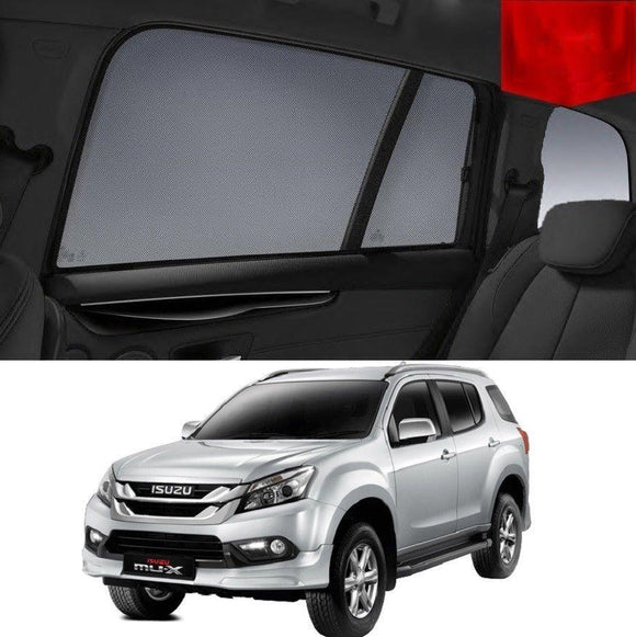 ISUZU MU-X 2013-2019 Rear Side Car Window Sun Blind Sun Shade For baby Mesh