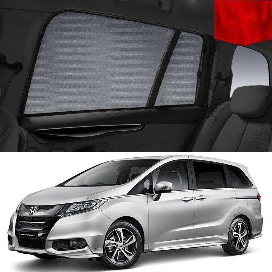 For HONDA Odyssey 2014-2020 5th Gen Magnetic Rear Window Sun Blind Sun Shade Mesh