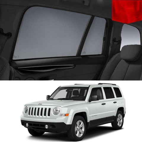 For JEEP  PATRIOT SUV 4D 2007-2016 MK Rear Side Car Window Sun Blind Sun Shade Mesh