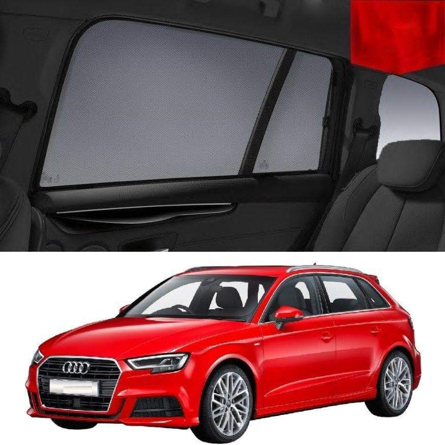 AUDI A3 Window Shade Hatchback 8V 2012-2019 Magnetic Snap on Sun Shade