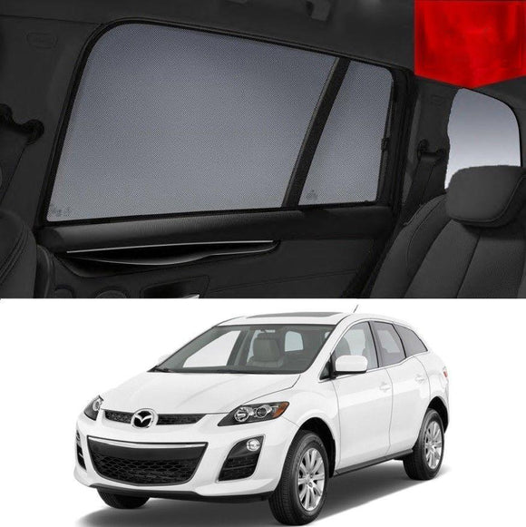 Mazda CX-7 ER 2006-2012   Car Shades | Snap On Magnetic Sun Shades Window Blind