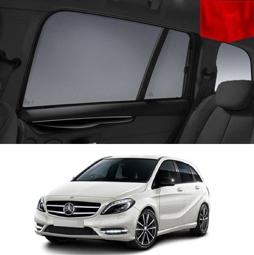 For MERCEDES-BENZ B Class 2012-2018 W246 Rear Car Window Sun Blind Sun Shade Mesh