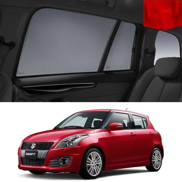 SUZUKI SWIFT 2011-2017   Car Shades | Snap On Magnetic Sun Shades Window Blind
