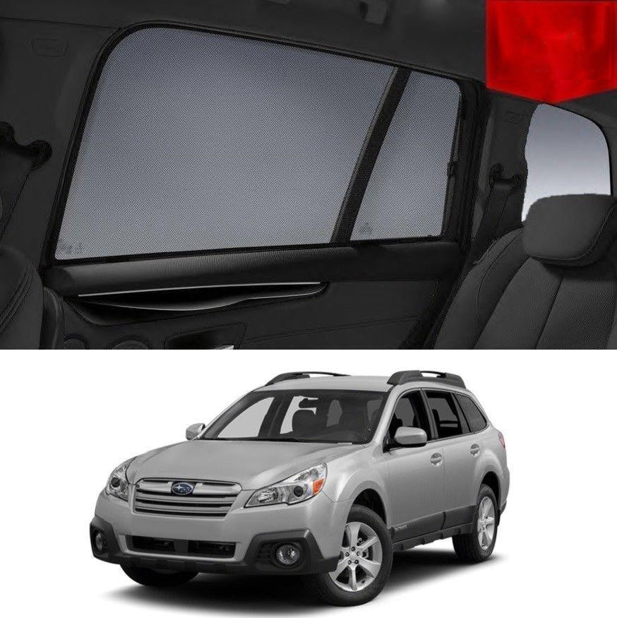 SUBARU Outback 4GEN 2009-2014 Magnetic Rear Window Sun Blind Sun Shade Mesh