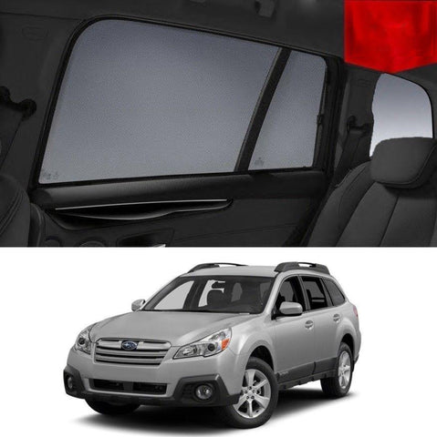 For SUBARU Outback 4GEN 2009-2014 Magnetic Rear Window Sun Blind Sun Shade Mesh