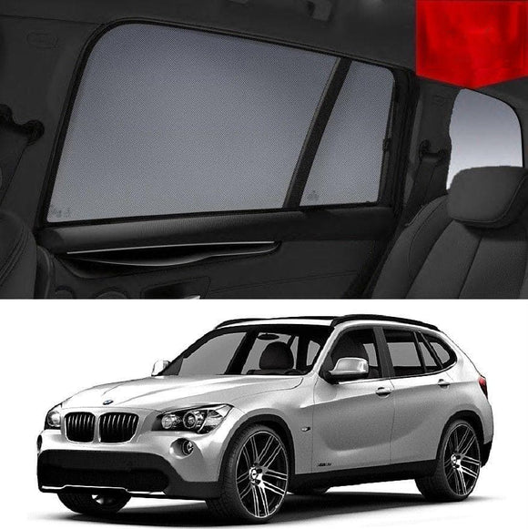 BMW X1 2010-2012 E84  Car Shades | Snap On Magnetic Sun Shades Window Blind