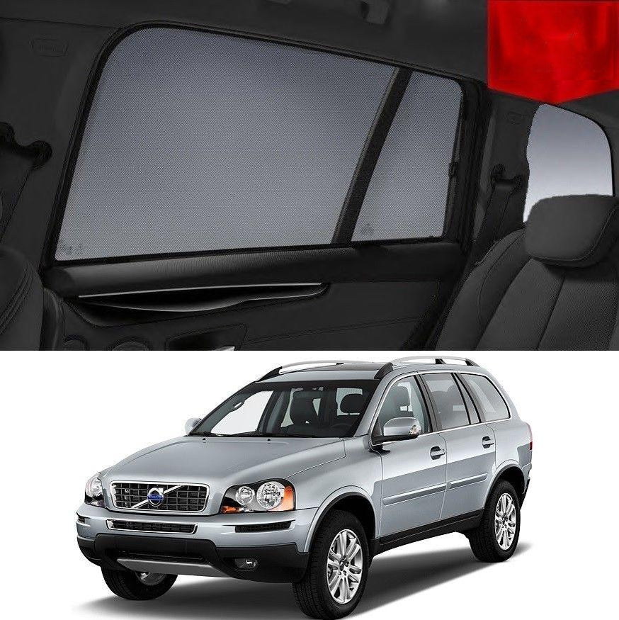 For VOLVO 2005-2014 XC90 Rear Side Car Window Sun Blind Sun Shade For baby Mesh