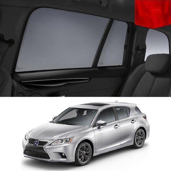 LEXUS 2011-2018 CT200h   Car Shades | Snap On Magnetic Sun Shades Window Blind