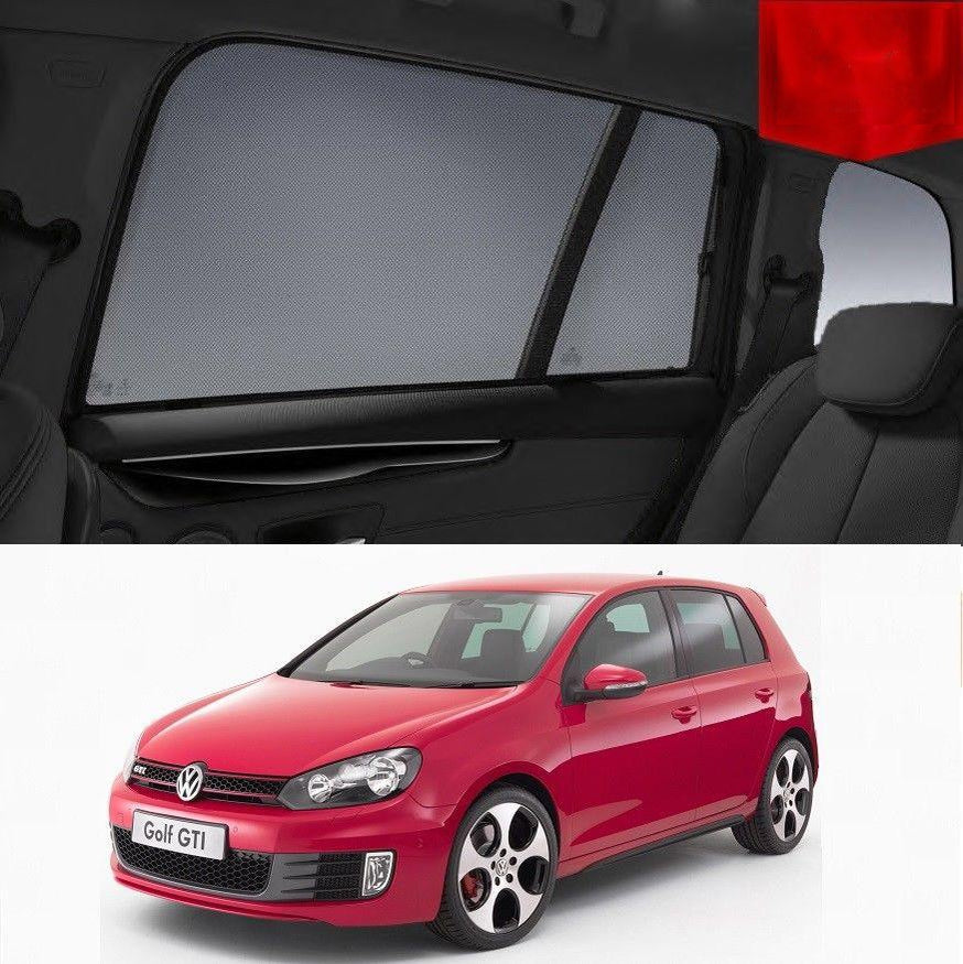 For Volkswagen GOLF 7 Hatchback 5D 2012-2017 Magnetic Window Sun Blind Sun Shade Mesh