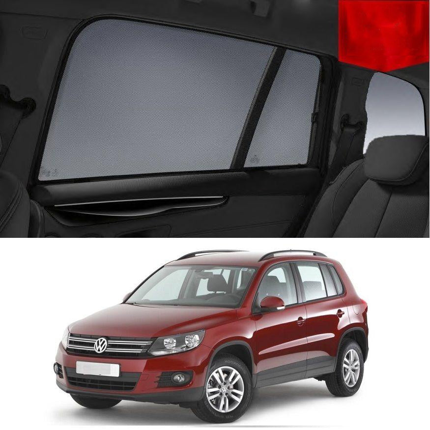 For Volkswagen 2011-2016 Tiguan Magnetic Rear Car Window Sun Blind Sun Shade Mesh