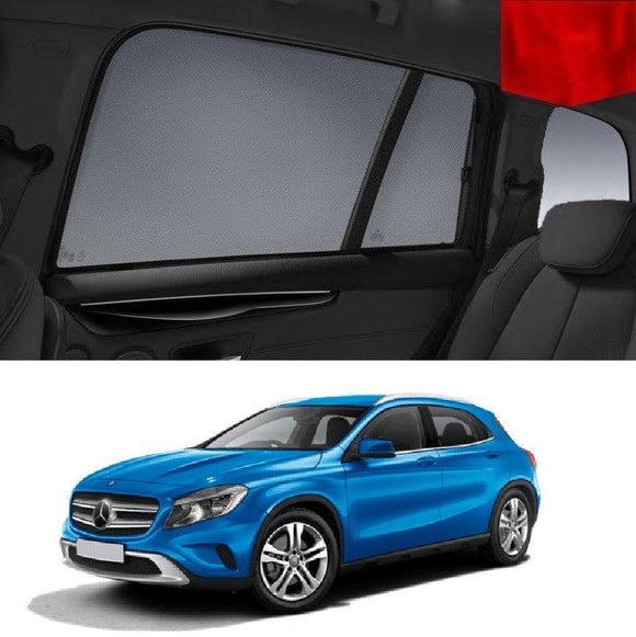 MERCEDES-BENZ GLA-Class 2013-2020 X156 Car Shades | Snap On Magnetic Sun Shades Window Blind