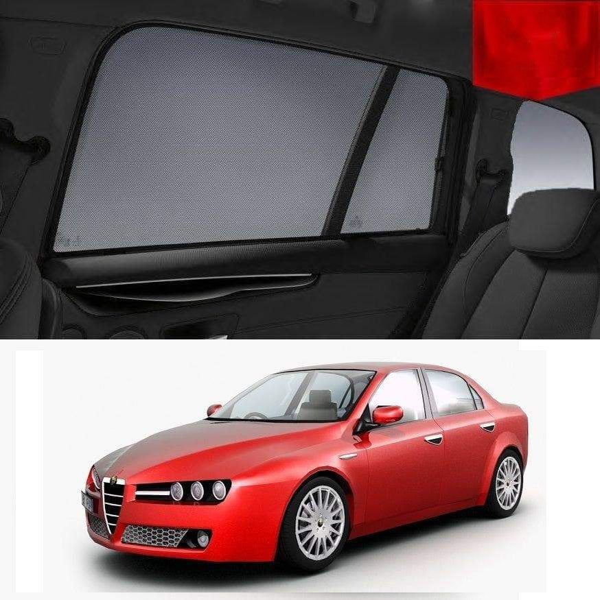 ALFA ROMEO 159 Sedan 2006-2012 Magnetic Rear Car Window Sun Blind Sun Shade Mesh