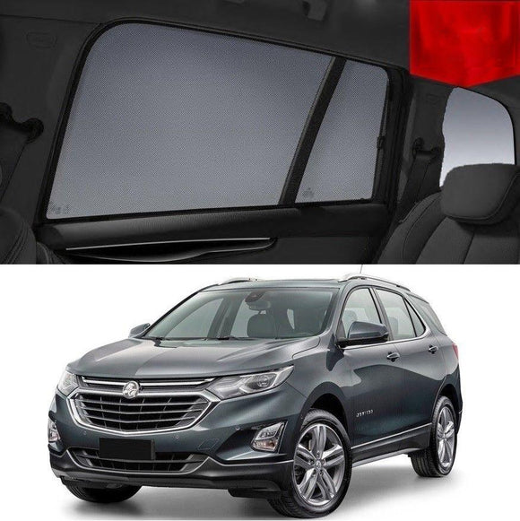 HOLDEN Equinox EQ 2017-2020   Car Shades | Snap On Magnetic Sun Shades Window Blind