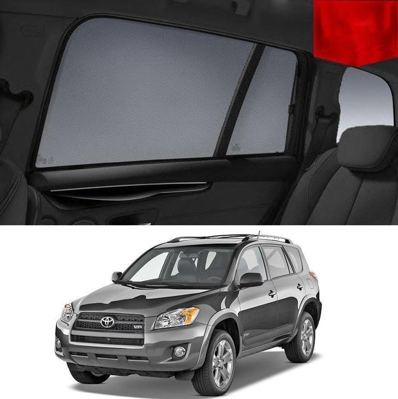 TOYOTA RAV4 2006-2012   Car Shades | Snap On Magnetic Sun Shades Window Blind