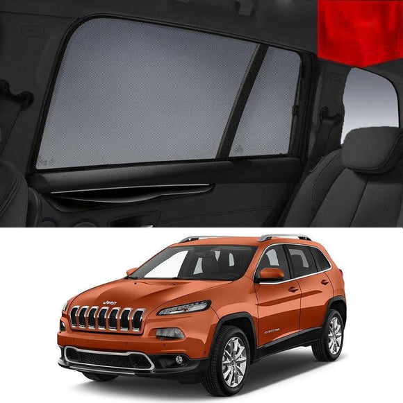 JEEP Cherokee 2014-2019 KL Rear Car Window Sun Blind Sun Shade For baby Mesh