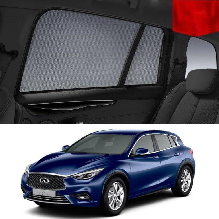 INFINITI Q30 2016-2019 Rear Side Car Window Sun Blind Sun Shade For baby Mesh
