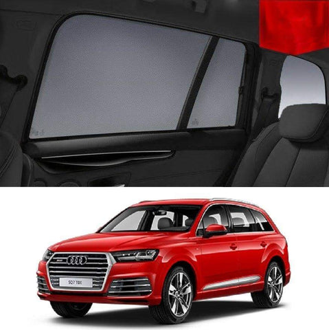 Car Window Shade For AUDI Q7 4M 2015 2016 2017 2018 2019 Window Sun Shade For Baby