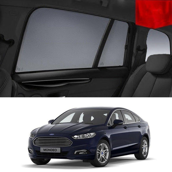 FORD Mondeo Hatchback 2015-2019 MD/ Mk5   Car Shades | Snap On Magnetic Sun Shades Window Blind