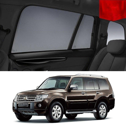 For Mitsubishi Pajero 2011-2014 NW Magnetic Rear Side Car Window Sun Blind Sun Shade