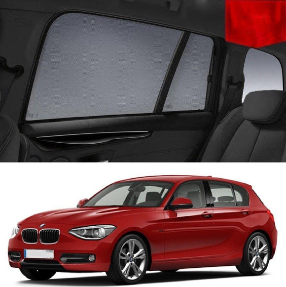 BMW 1 Series 2011-2015 F20  Car Shades | Snap On Magnetic Sun Shades Window Blind