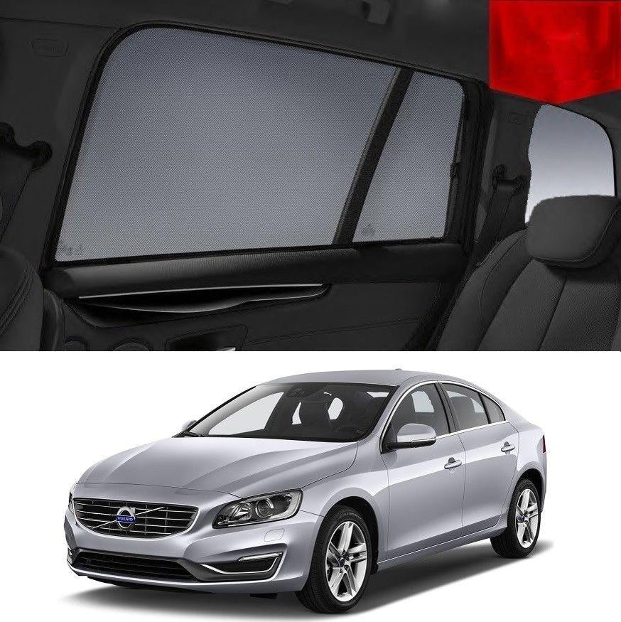 For VOLVO  2015-2019 S60  Rear Side Car Window Sun Blind Sun Shade For baby Mesh