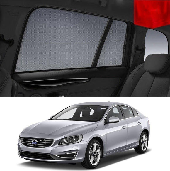VOLVO 2015-2019 S60   Car Shades | Snap On Magnetic Sun Shades Window Blind