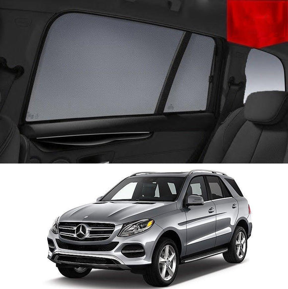 MERCEDES-BENZ GLE SUV 2015-2018 W166   Car Shades | Snap On Magnetic Sun Shades Window Blind