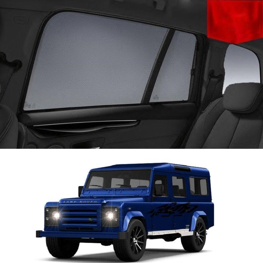 Land Rover Defender 5 Door 2007-2017 Rear Side Car Window Sun Blind Sun Shade
