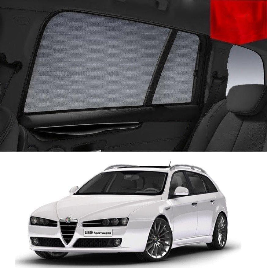 For ALFA ROMEO 159 Wagon 2006-2012 Magnetic Snap on Car Sun Shade Mesh Window Blind