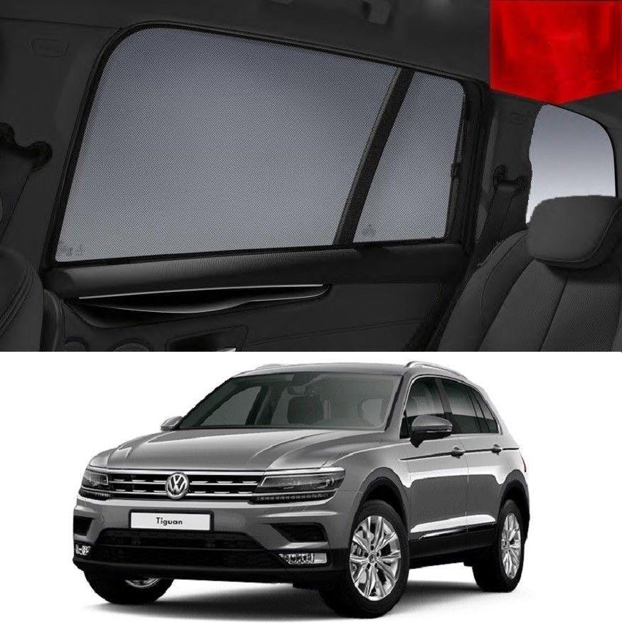 Volkswagen 2016-2019 Tiguan Magnetic Rear Car Window Sun Blind Sun Shade Mesh