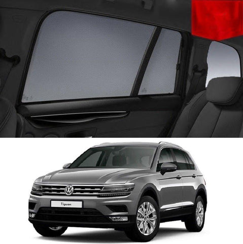 For Volkswagen 2016-2020 Tiguan Magnetic Rear Car Window Sun Blind Sun Shade Mesh