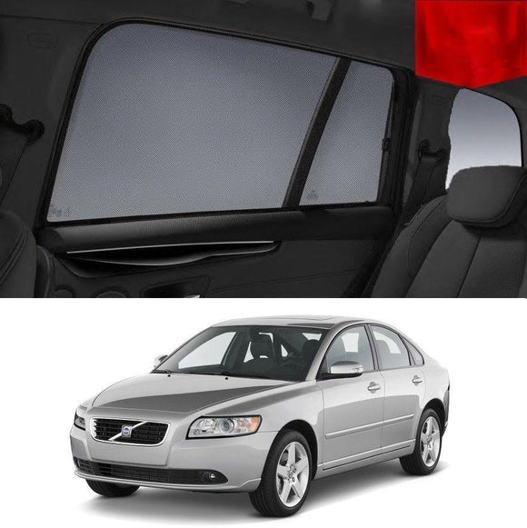 VOLVO 2006-2016 S40   Car Shades | Snap On Magnetic Sun Shades Window Blind