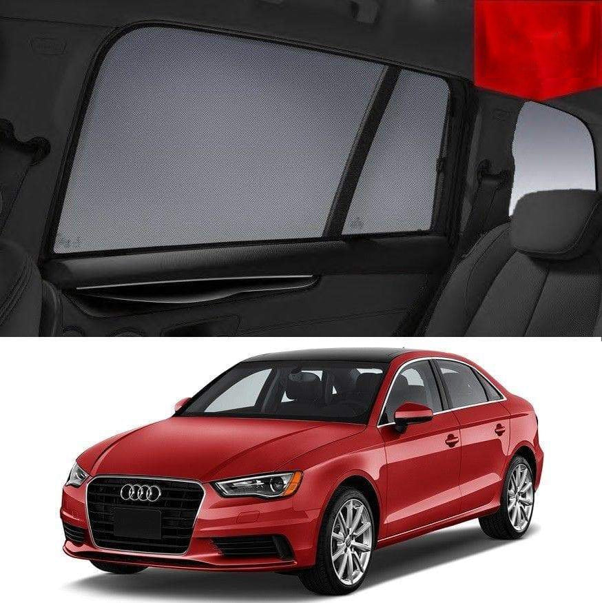AUDI A3 Sun Shades Sedan 8V 2013-2019 Magnetic Snap on Car Window Shade