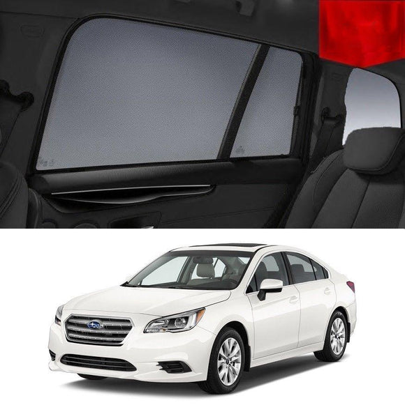 SUBARU Liberty 2014-2019   Car Shades | Snap On Magnetic Sun Shades Window Blind