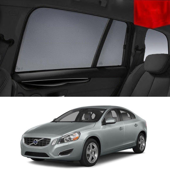 VOLVO 2010-2015 S60   Car Shades | Snap On Magnetic Sun Shades Window Blind