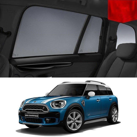 For MINI Countryman 2011-2016 R60 Rear Car Window Sun Blind Sun Shade For baby Mesh
