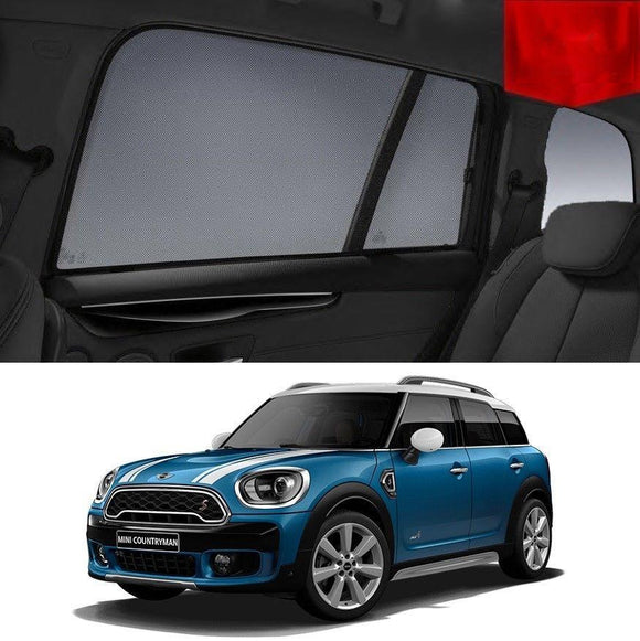 MINI Countryman 2011-2016 R60   Car Shades | Snap On Magnetic Sun Shades Window Blind