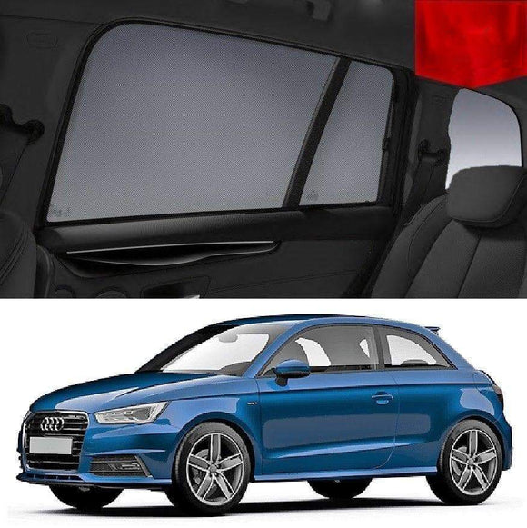 AUDI A1 3-Door 2010 2011 2012 2013  Car Shades | Snap On Magnetic Sun Shades Window Blind